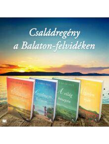 Édesvízi mediterrán csomag - Balaton-felvidéki családregény 4 kötet