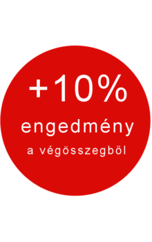 +10% további engedmény