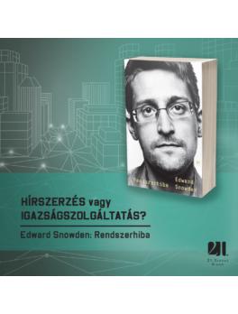 Rendszerhiba - Edward Snowden