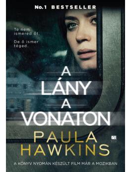 A lány a vonaton - filmes borítóval - AZ ÉV KÖNYVE 2015