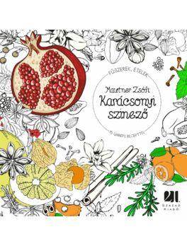 Karácsonyi színező - 15 ünnepi recepttel