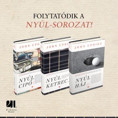 Nyúl-sorozat  - John Updike könyvcsomag
