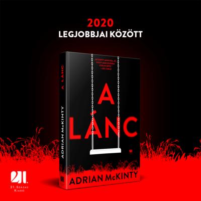 A lánc - Adrian McKinty - Az év thrillere 2019