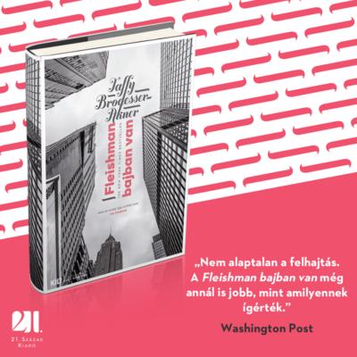 Fleishman bajban van - Az Év könyvei 2019