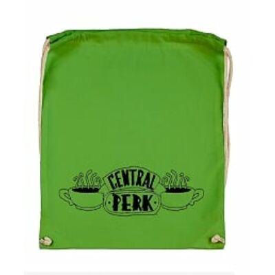Jóbarátok zsák - Friends - zöld - Central Perk