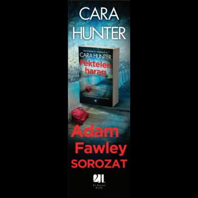 Könyvjelző - Féktelen harag - Adam Fawley sorozat