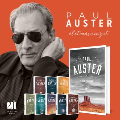 Paul Auster csomag - 9 könyv - 50% kedvezménnyel