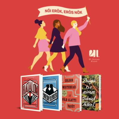 Női erők - erős nők - 4 db  KULT Könyv