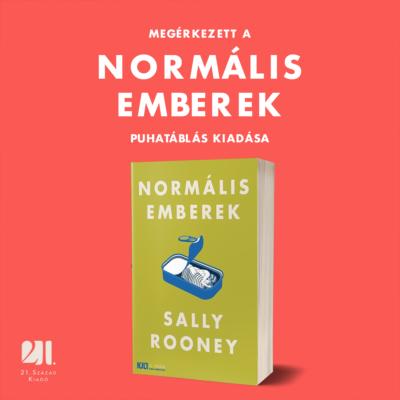 Normális emberek - Az év regénye 2018 - puhatáblás