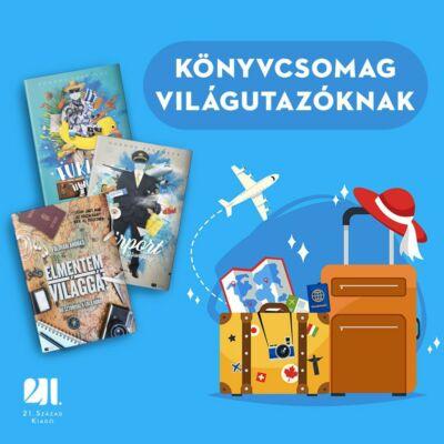 Könyvcsomag világutazóknak  - 3 cím