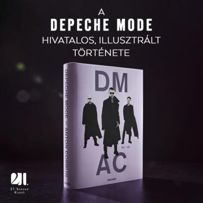 Depeche Mode by Anton Corbijn- fotóalbum könyv XL
