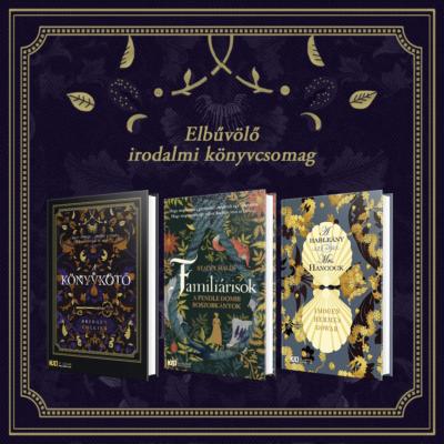 Elbűvölő és aranyba öltöztetett könyvek - 3 cím - KULT