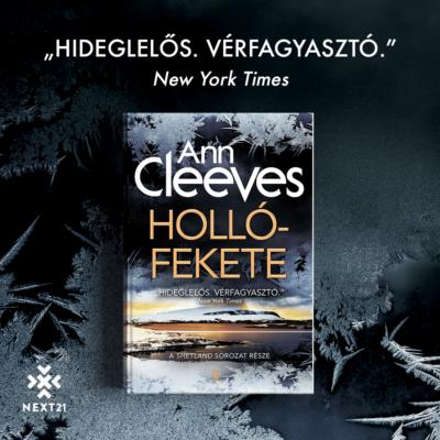 Hollófekete - Ann Cleeves - Shetland sorozat