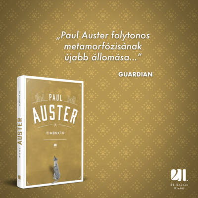 Timbuktu - Paul Auster
