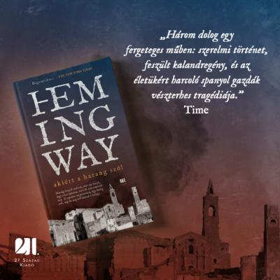 Akiért a harang szól - Ernest Hemingway