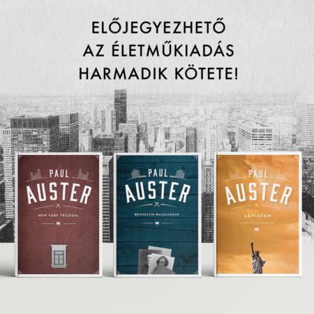 Paul Auster életműsorozatának harmadik darabja, a Leviatán