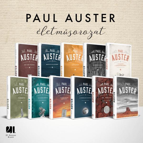 paul-asuter-21-szazad-kiado-eletmu-sorozat-vilagirodalom-new-york-trilogia-brooklyni-balgasagok