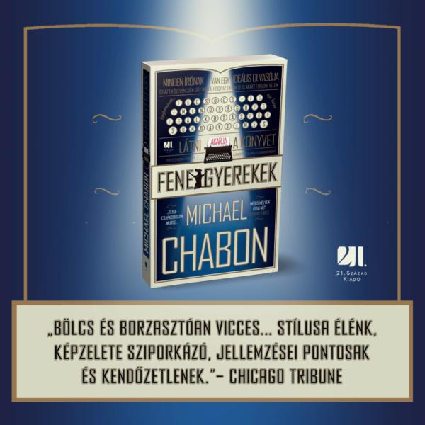 fenegyerekek-michael-chabon-21-szazad-kiado